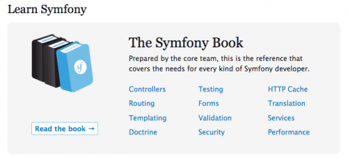 symfony 2 documentation