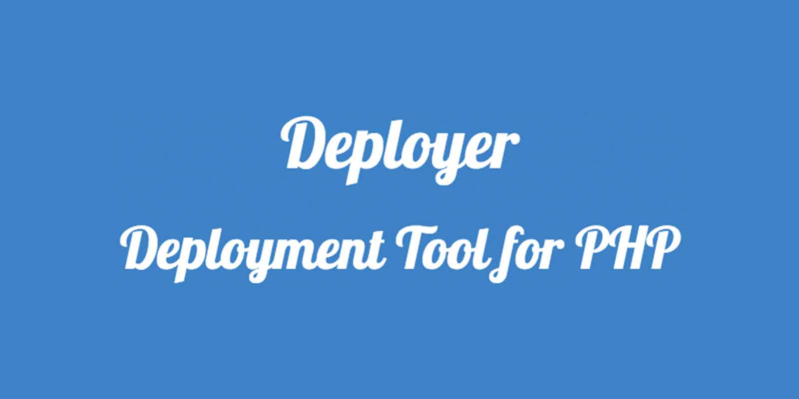 Deployer Easy Php Deployment on Easy Php