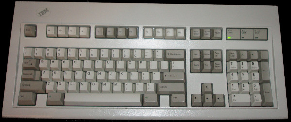 IBM Model M Mechanical Keyboard