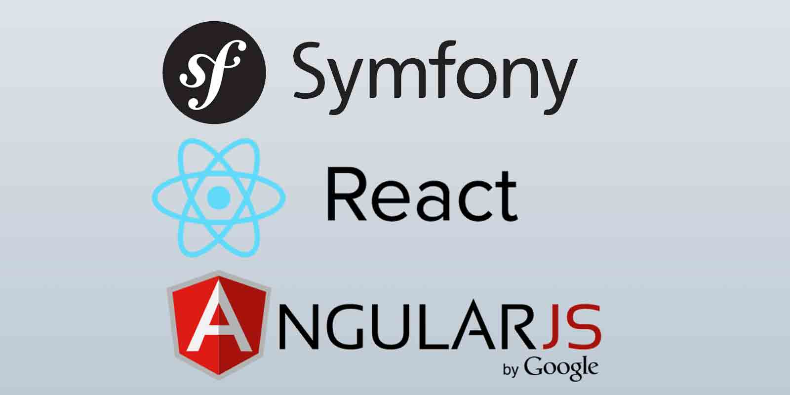 Symfony 3 with ReactJS and Angular tutorial series