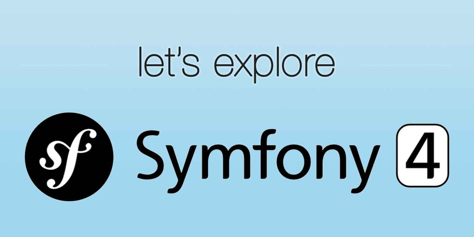 Beginners Symfony 4 Tutorial